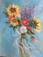12x16 acrylic hand picked bouquet.jpg