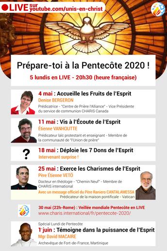 Prépare-toi à la Pentecôte 2020