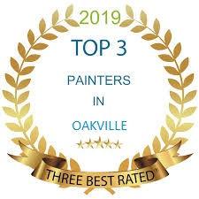 top 3 painters in oakville