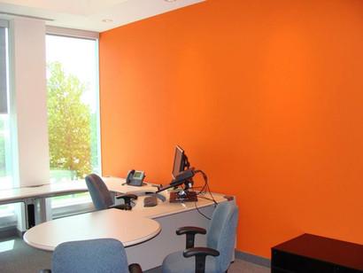 ofiice interior painting