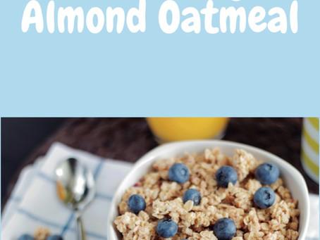 Easy Blueberry Almond Oatmeal
