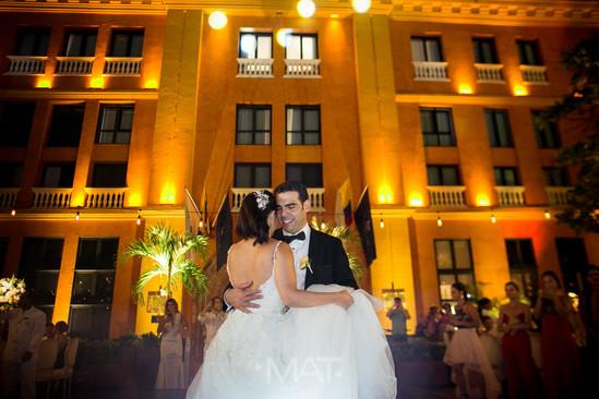 Primer baile en el Hotel Charleston Santa Teresa