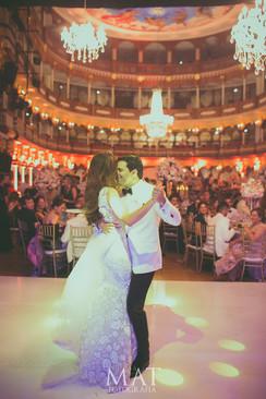 Primer Baile en el Teatro de Heredia