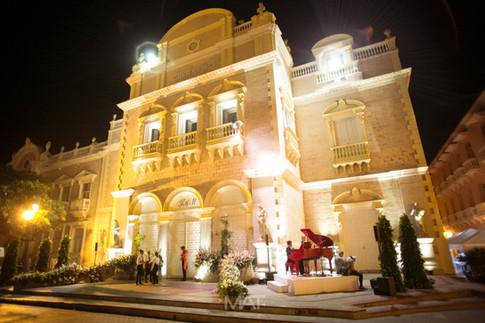 Fachada del Teatro de Heredia (Adolfo Mejía)