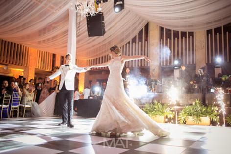 Primer Baile en el centro de convenciones de Cartagena