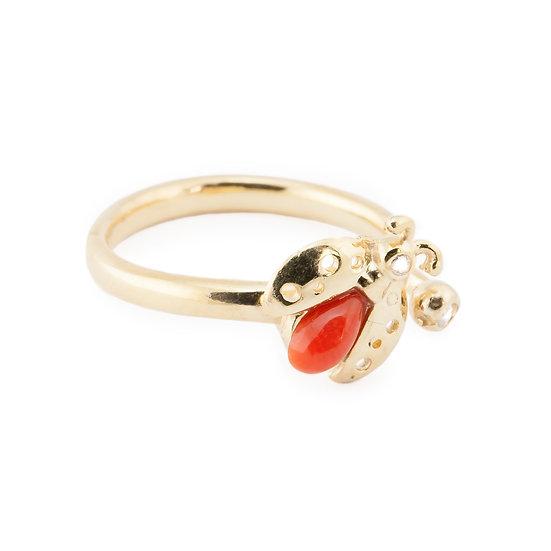 anello coccinella