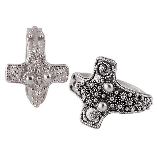 anello in argento Dea Madre di Turriga