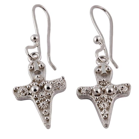 orecchini in argento dea madre
