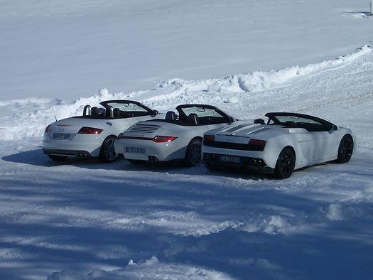 Schnee und Eis