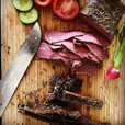 Pastrami und Biltong jausnen #jause #essen #pastrami #biltong #farmer #salzburgland #fuschlseeregion #faistenau