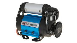 ARB On Board Air Compressor to pressurize the Road Shower 4 for steady water pressure.