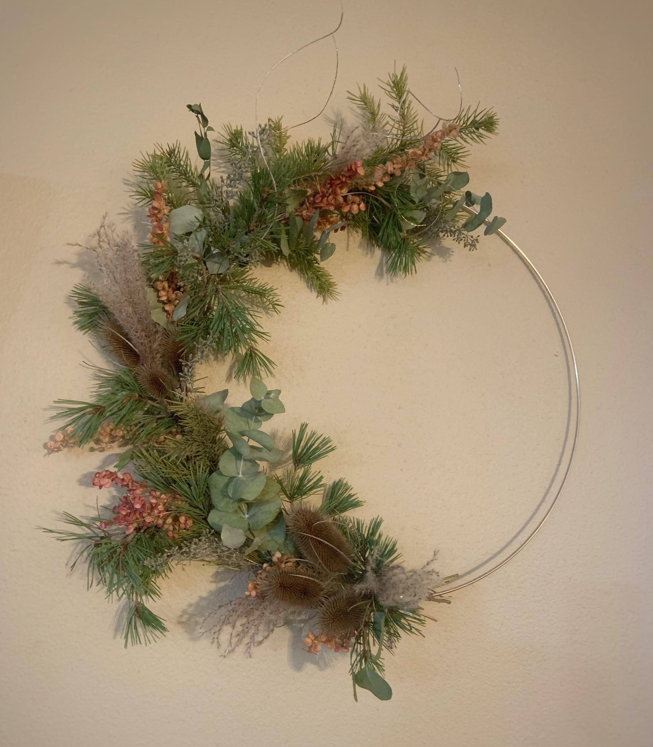 Modern Christmas Wreath Workshop