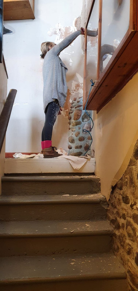 Well I'll go to the foot of our stairs!