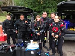 advanced open water scuba diving norwich