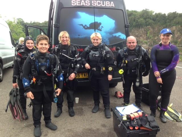padi open water scuba diving norwich nor