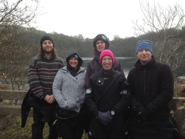 open water group
