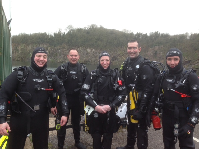 open water and drysuit