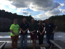 Advanced Open Water group