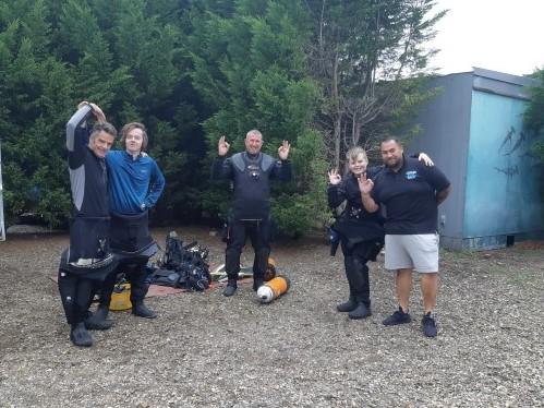 Steve open water group