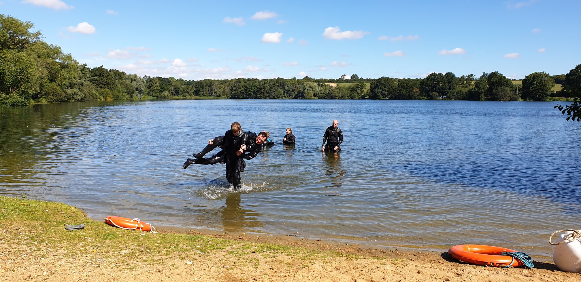 rescue diver course norfolk