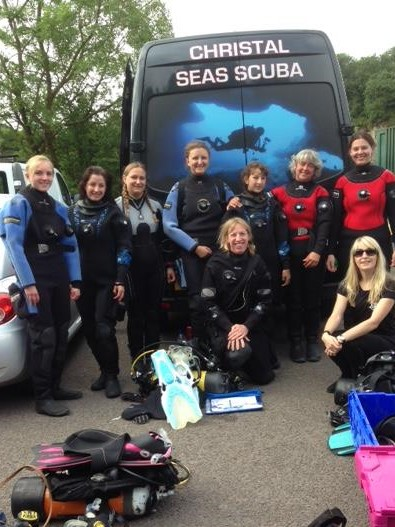 padi womens dive day2