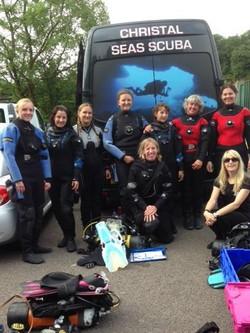 padi womens dive day2