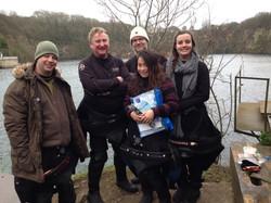 Nigel, Ian, Gemma, Duncan & Danielle