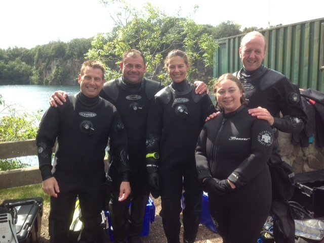 padi scuba diving norwich norfolk