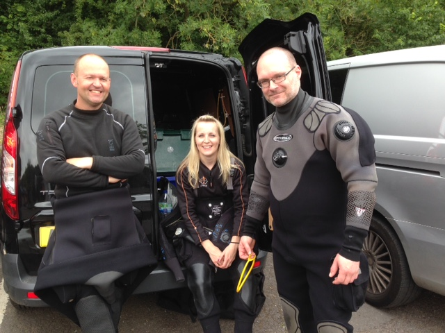 pleasure diving at stoney cove