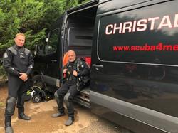 Open Water divers scuba Simon