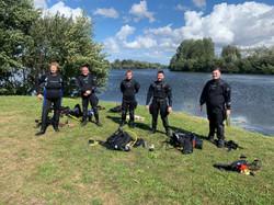 divers in suits (Medium)