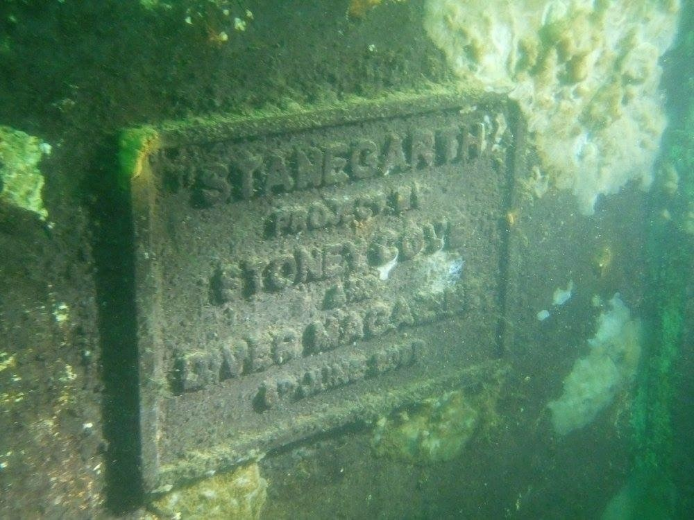 stanegarth plaque