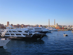 boat and harghada (Medium)