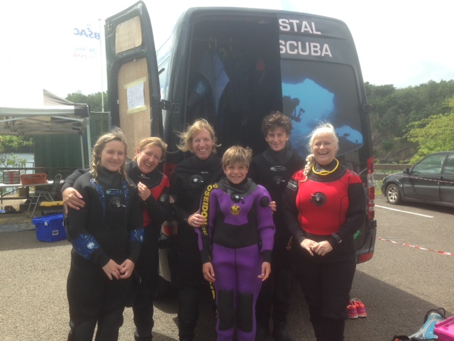 PADI scuba courses norfolk