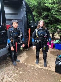 Open Water divers Norfolk