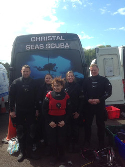 stoney cove diving