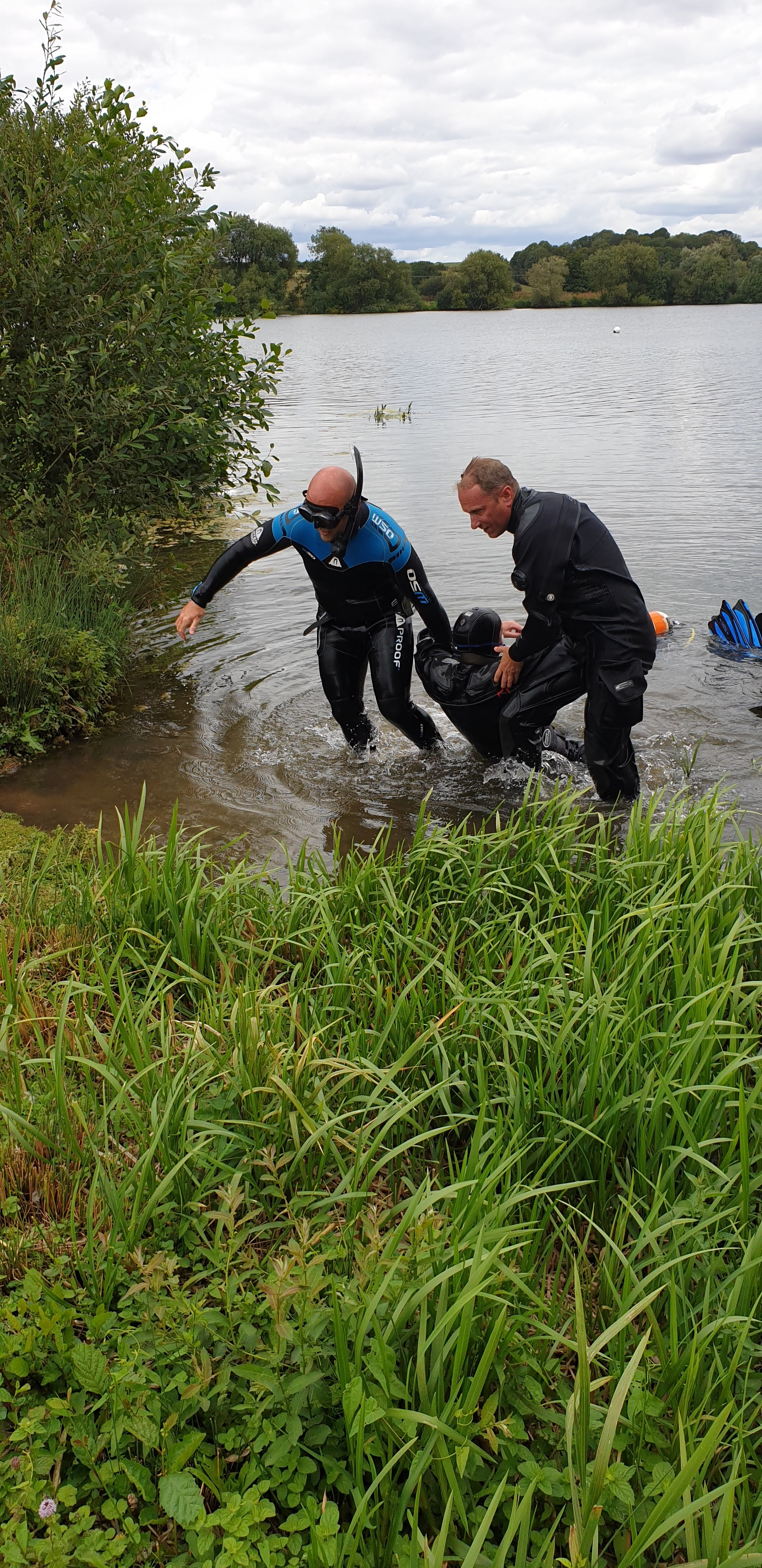 rescue diver course Norwich