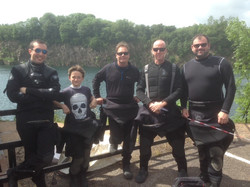 scuba diving norfolk