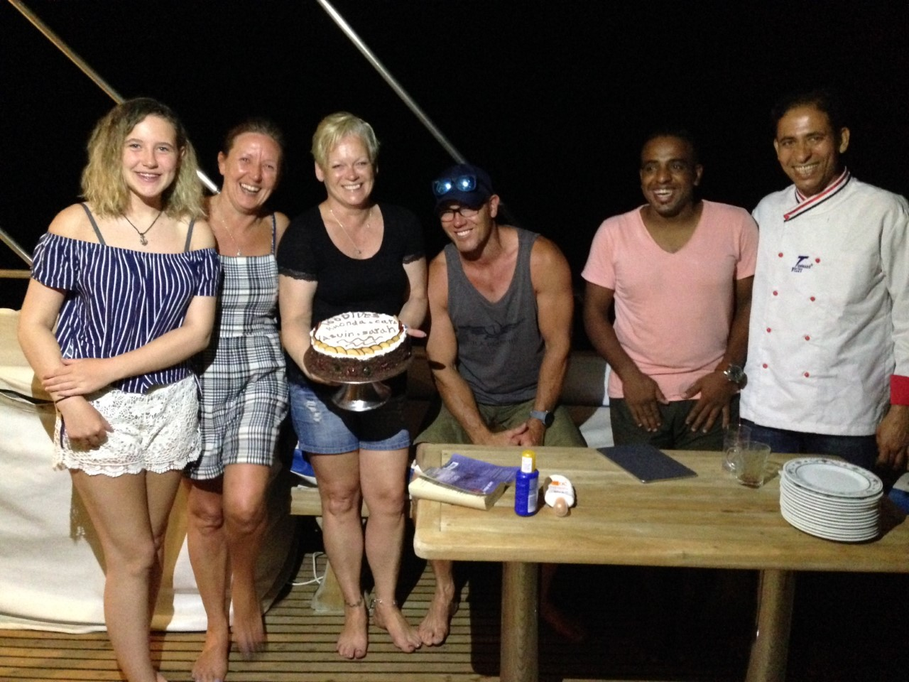 10 dive cake