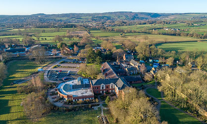 Aerial photograph of Ashgate Hospicecare