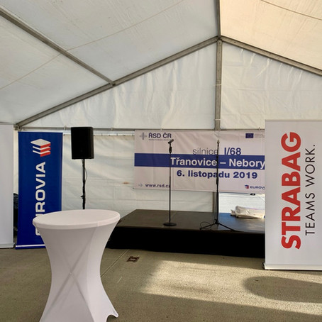 2019 - Zahájení výstavby silnice I/68 Třanovice-Nebory