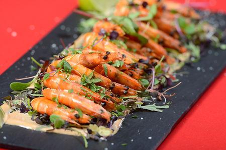 Yellito - Catering Ostrava - Grilované krevety