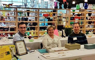 Michigan Depression Glass Society members welcome you to join