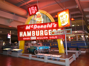 Henry Ford Museum McDonalds Sign