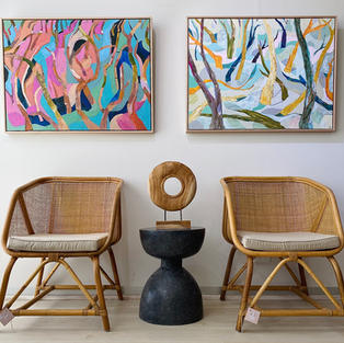Cane Bucket Chairs