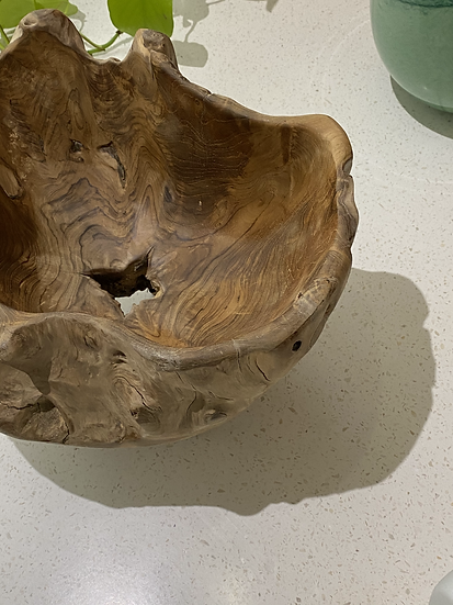 Teak Root Fruit Bowl