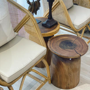 Suar Wood Sidetables