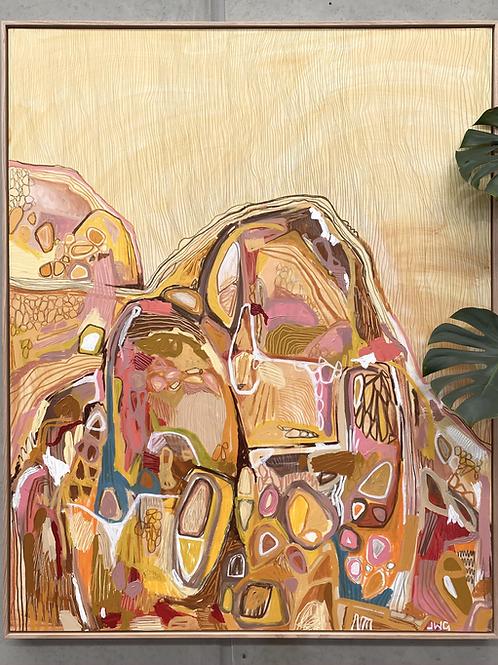 Sun-dried Land | 120cm x 150cm | Original