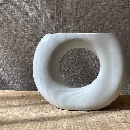 Ceramic Circle Vase