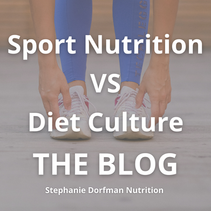 Athlete's vs Diet Culture - Is it Possible to Eat Intuitively as an Athlete?